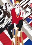 nastoletnia mody dziewczyna ilustracja wektor