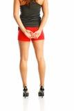 nastoletnia mody sprawność fizyczna Zdjęcia Stock