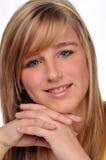 nastoletnia piękna dziewczyna Fotografia Stock