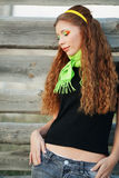 nastoletnia piękna dziewczyna fotografia royalty free