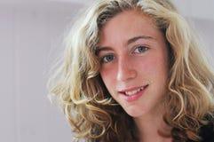 nastoletnia piękna dziewczyna Zdjęcia Stock