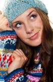 nastoletnia wyrażeniowa dziewczyna zdjęcia stock