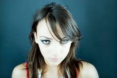 nastoletnie dziewczyny nieszczęśliwy Fotografia Stock