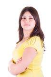 nastoletnie fałdowe ręk dziewczyny Zdjęcia Stock