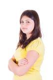 nastoletnie fałdowe ręk dziewczyny Zdjęcie Royalty Free