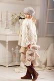 Nastoletnie piękne dziewczyn pozy w fotografii studiu Zdjęcie Royalty Free