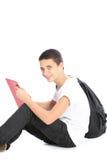 Nastoletniego chłopaka młody uczony obrazy royalty free