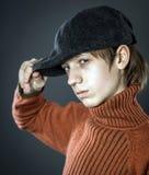 Nastoletniego chłopaka portret Fotografia Stock