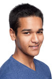 Nastoletniego chłopaka portret Obraz Stock