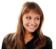 Nastoletniej dziewczyny emocjonalny atrakcyjny robi twarzom Zdjęcia Royalty Free