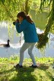 Nastoletniej dziewczyny fotografować Fotografia Stock