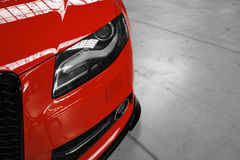Nastrajający Audi S4 Obrazy Royalty Free