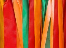 Nastri colorati Fotografia Stock