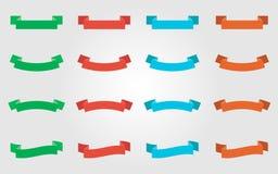 Nastri colorati multiplo Fotografia Stock