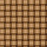 Nastri d'intreccio di colore marrone - struttura eps8 illustrazione di stock