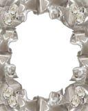 Nastri dei diamanti dell'invito di cerimonia nuziale Immagine Stock Libera da Diritti
