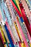 Nastri del ponticello di libertà nel Sud Corea Fotografia Stock Libera da Diritti