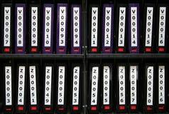 Nastri di riserva del calcolatore Immagine Stock Libera da Diritti