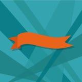 Nastri messi, illustrazione di web di vettore Immagine Stock