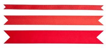 Nastri rossi Fotografia Stock
