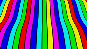 Nastri variopinti - diagonale Fotografia Stock