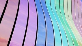 Nastri variopinti - diagonale Fotografie Stock Libere da Diritti
