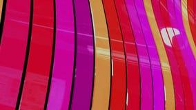 Nastri variopinti - diagonale Fotografia Stock Libera da Diritti