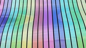 Nastri variopinti - diagonale Immagini Stock