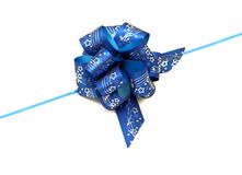 Nastro blu fotografia stock