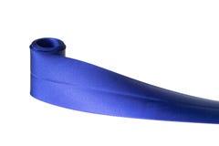 Nastro blu Fotografie Stock Libere da Diritti
