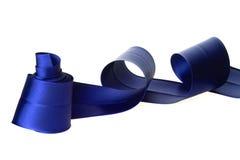 Nastro blu fotografia stock libera da diritti