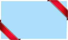 Nastro blu-chiaro Fotografia Stock Libera da Diritti