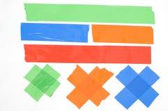 Nastro colorato. immagine stock