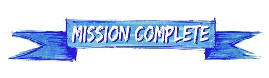 nastro completo di missione illustrazione di stock
