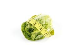nastro dell'insalata di misura del lettace fotografia stock