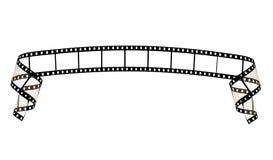 Nastro della striscia della pellicola Fotografie Stock