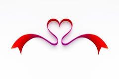 Nastro di amore Immagine Stock
