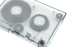 Nastro di calcolatore di riserva magnetico isolato immagini stock