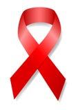 Nastro di consapevolezza del AIDS Fotografie Stock