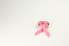 Nastro di consapevolezza del cancro della mammella Fotografia Stock