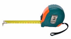 Nastro di misurazione d'acciaio Fotografia Stock