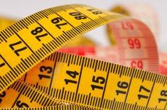 Nastro di misurazione del sarto Fotografie Stock Libere da Diritti