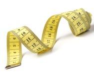Nastro di misurazione del sarto isolato Fotografia Stock Libera da Diritti