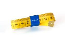 Nastro di misurazione per vestiti immagine stock