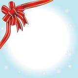 Nastro di Natale Immagine Stock