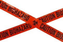 Nastro di rischio biologico Immagini Stock Libere da Diritti