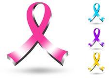 nastro di rosa 3D Immagini Stock Libere da Diritti