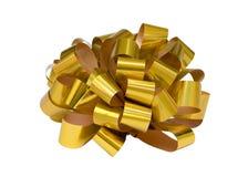 Nastro dorato Fotografia Stock