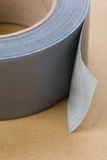 Nastro grigio del condotto Fotografia Stock