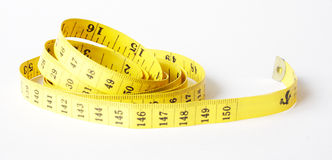 Nastro metrico Fotografia Stock